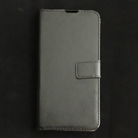 Front view of book wallet phone case