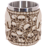 Skull tankard end view