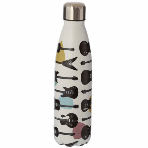 Guitar Headstock Stainless Steel Insulated Drinks Bottle