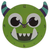 Decorative Monster Monstarz Green Wall Clock