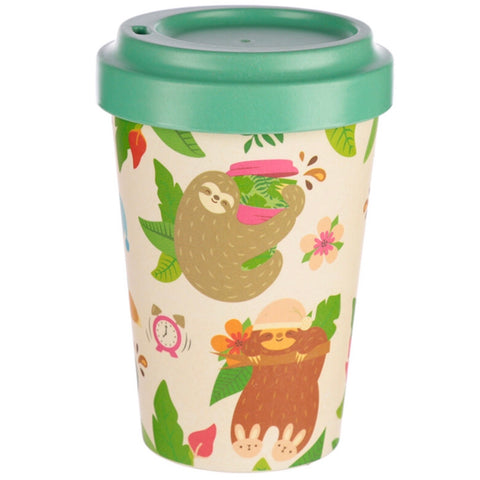 Bamboo Composite Sloth Travel Mug
