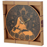 Thai budda wall clock in a box