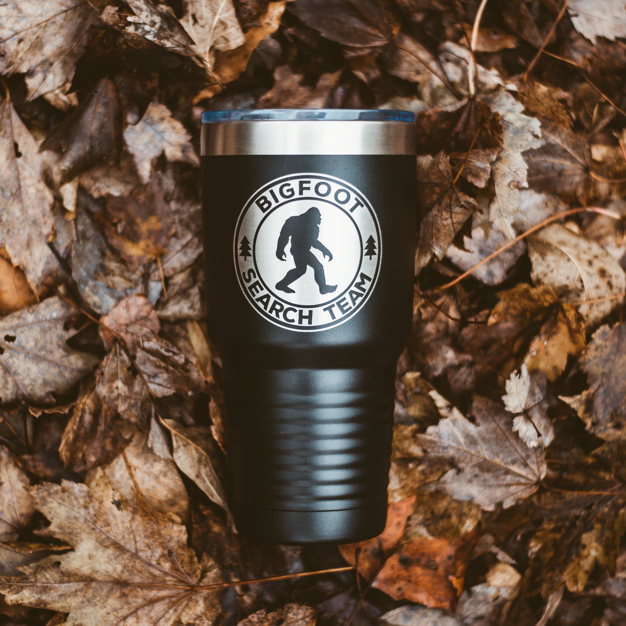 Bigfoot Search Team Tumbler - Black 30 oz