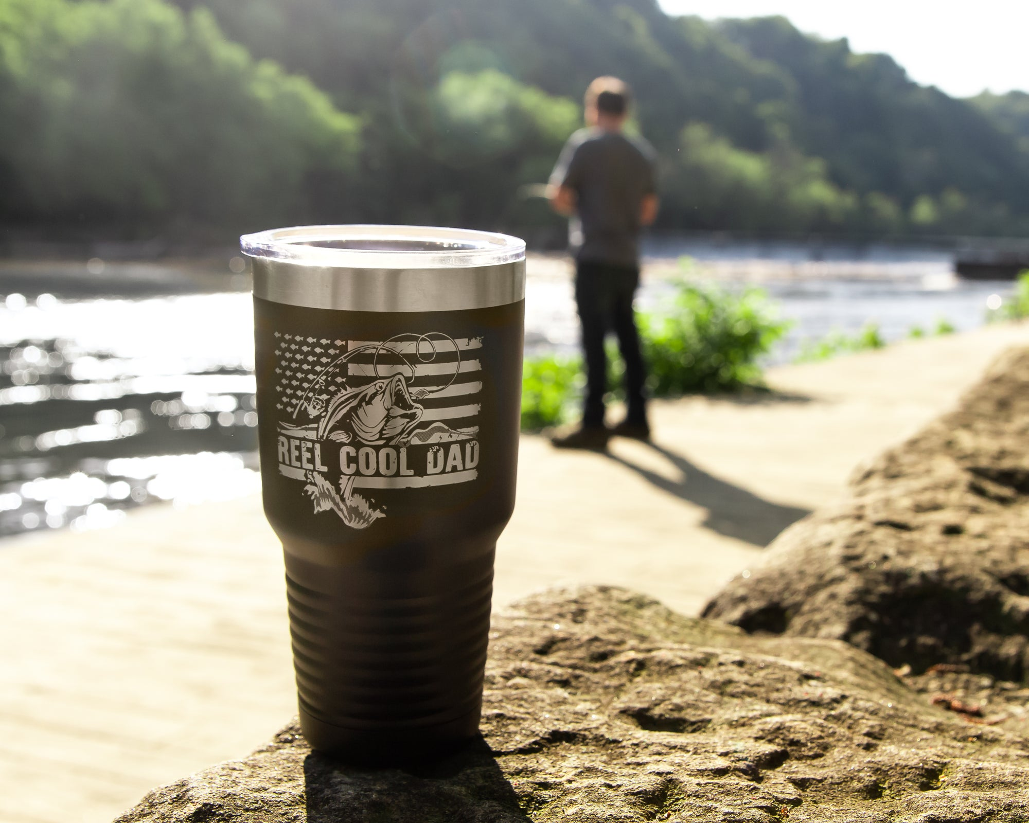 Reel Cool Dad 30 oz Tumbler
