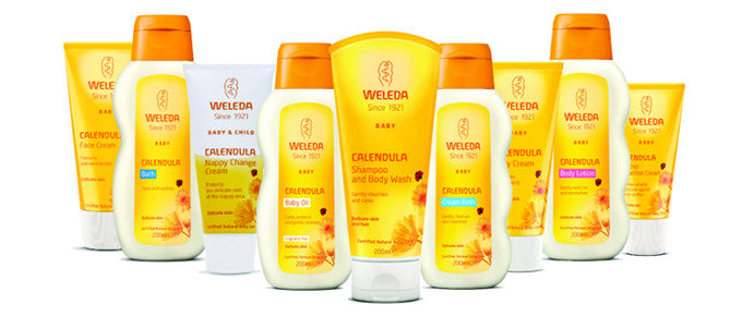 Weleda Now Available at OrganicBaby.la!