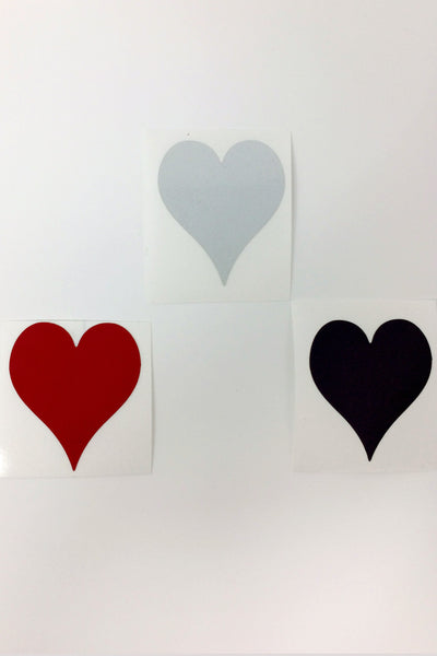 Reflective Decals HEARTS