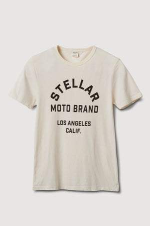 Stellar, Moto, functional art, moto gear, MOTO rally t-shirt, neckline, cotton, vintage, short sleeve, protective wear, functional fashion, motorcycle, shirt, tee, retro, fashion,  soft, airflow, resistant, strong, road race shirt