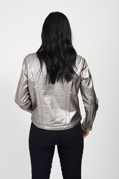 VOLTAGE Leather Jacket / MERCURY