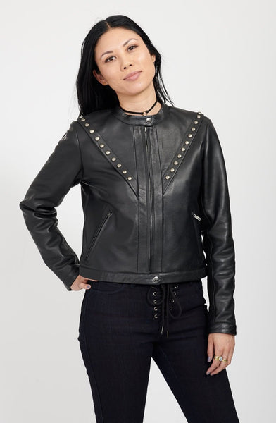 VOLTAGE Leather Jacket / IRON
