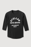 Stellar, Moto, functional art, moto gear, MOTO rally t-shirt, neckline, cotton, vintage, short sleeve, protective wear, functional fashion, motorcycle, shirt, tee, retro, fashion,  soft, airflow, resistant, strong, track day shirt