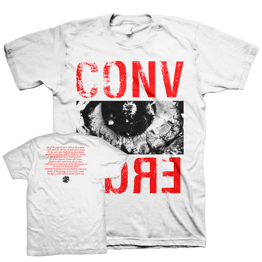 "Converge ""Eye Of The Quarrel"" White T-Shirt"