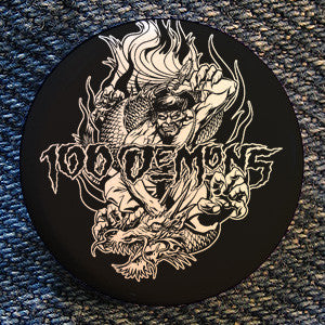 "100 Demons ""Dragon Rider"" Button"