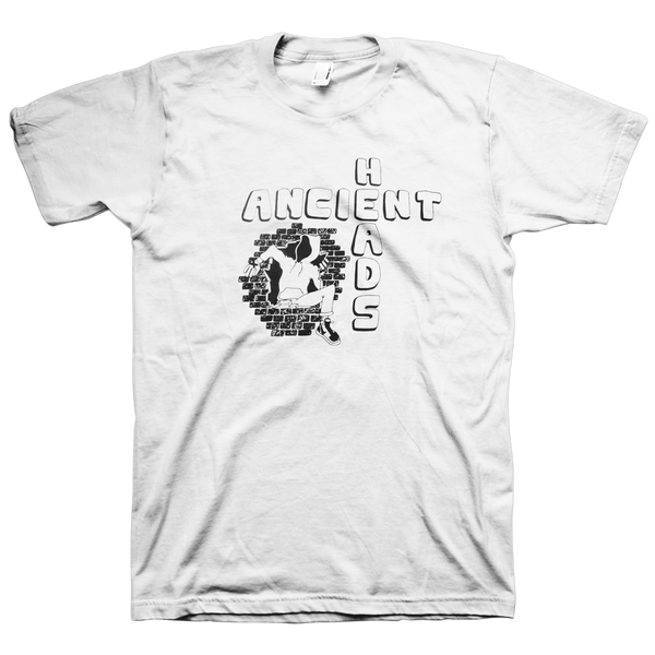 "Ancient Heads ""Tour 2016"" White T-Shirt"