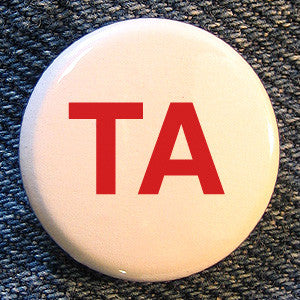 "Touche Amore ""TA"" Button"