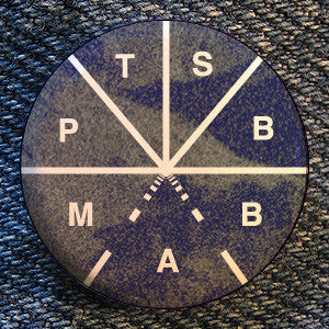 "Touche Amore ""PTSBBAM Symbol"" Button"