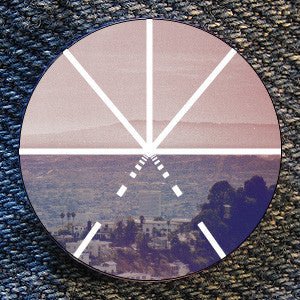 "Touche Amore ""Symbol Skyline"" Button"