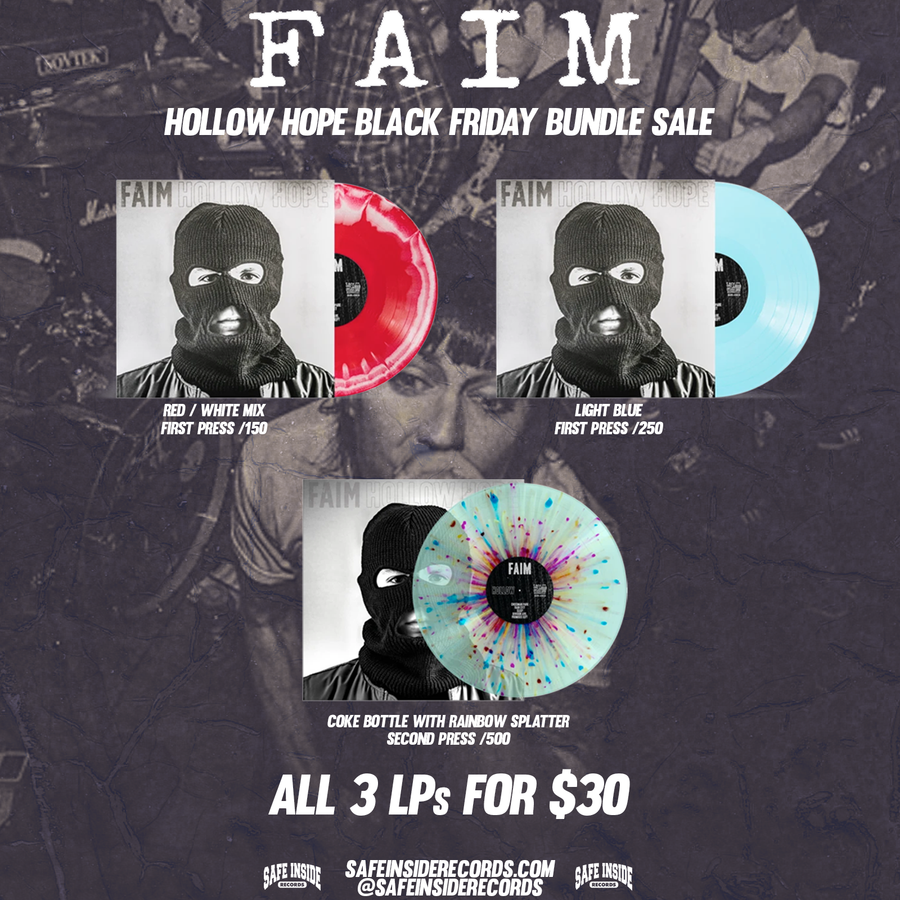 "Faim ""Hollow Hope"" Black Friday Bundle"
