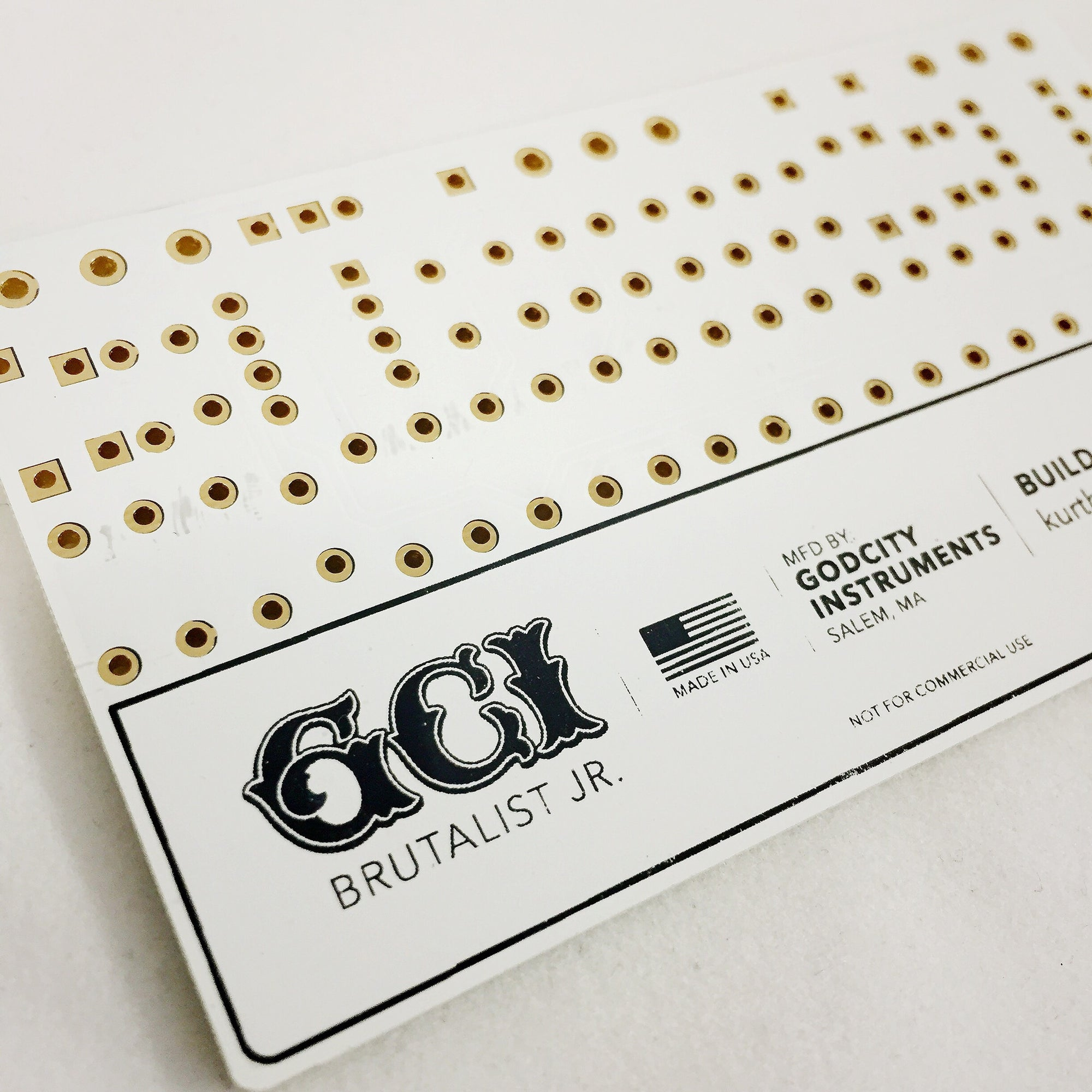 Godcity Printed Circuit Board Business Card - Deathwish Inc