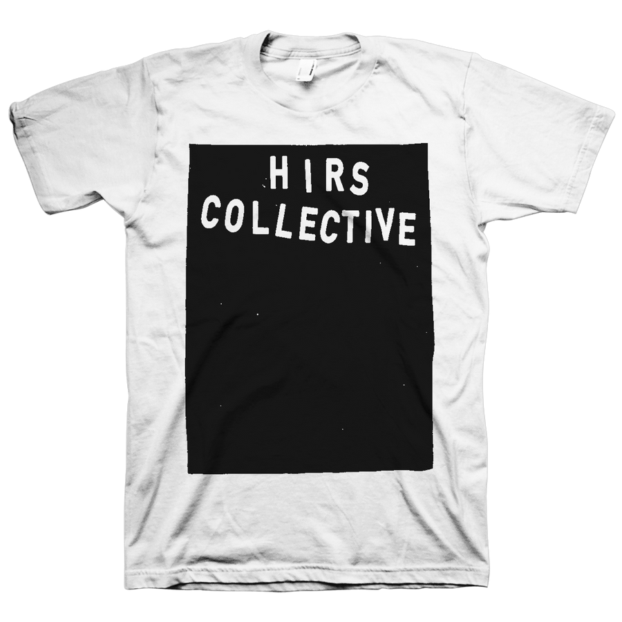 "The HIRS Collective ""Black Square Logo"" White T-Shirt"