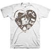 "The HIRS Collective ""Heart"" White T-Shirt"