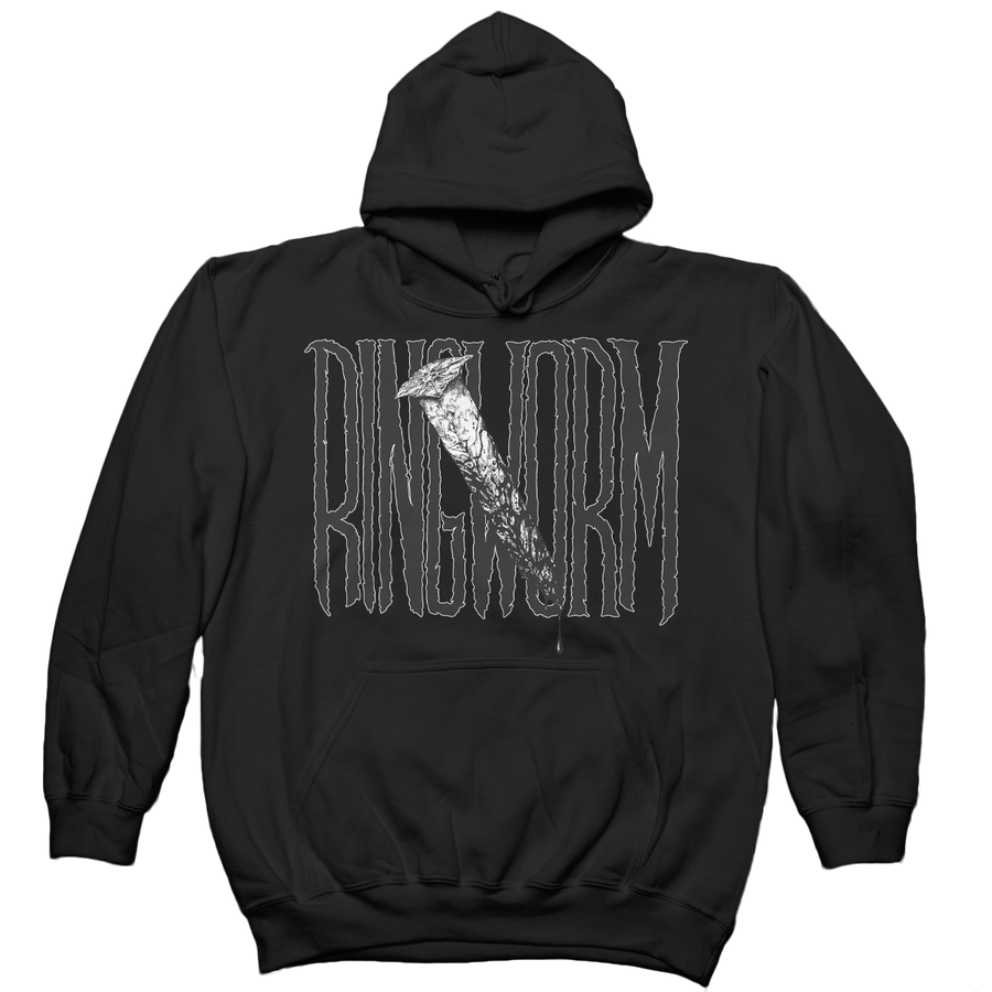 "Ringworm ""The Nail"" Black Hooded Sweatshirt"