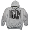 "Ringworm ""The Nail"" Grey Hooded Sweatshirt"