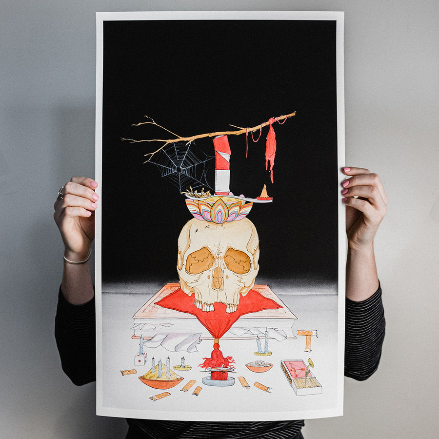 "Zac Scheinbaum ""Shrine III"" Giclee Print"