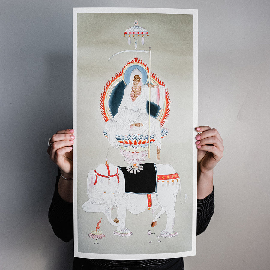 "Zac Scheinbaum ""God of Life"" Giclee Print"
