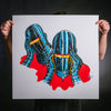 "Nick Pyle ""Troubled"" Giclee Print"