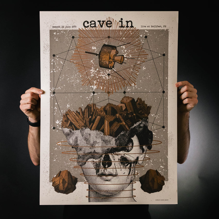 "Cave In ""Hellfest 2019"" Screen Print"