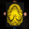 "Andrew Gomez IV ""Best of Hands, Mystic Queen: Yellow"" Giclee Print"