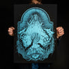 "Andrew Gomez IV ""Best of Hands, Mystic Queen: Blue"" Giclee Print"