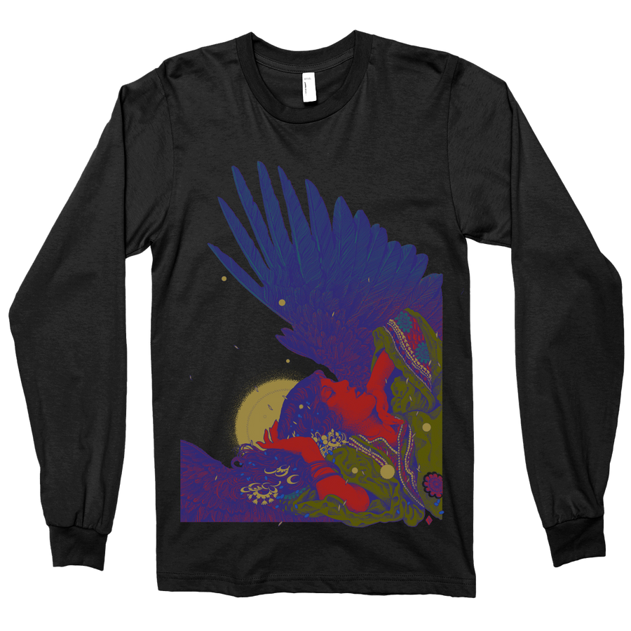 "Richey Beckett ""In Heaven"" Charcoal Black Longsleeve"