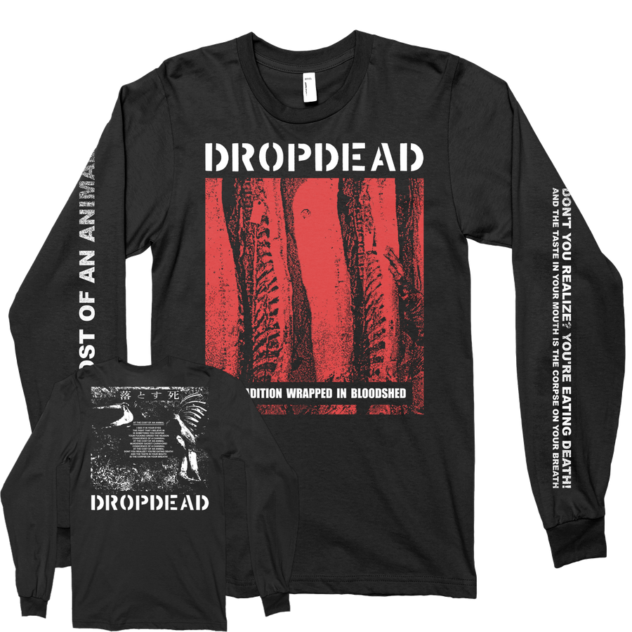 "Dropdead ""Tradition"" Black Longsleeve"