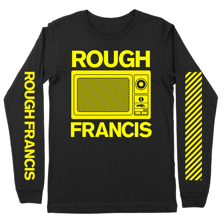 "Rough Francis ""Urgent Care: Microwave"" Black Longsleeve"