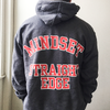 "Mindset ""Straight Edge Varsity"" Charcoal Sweatshirt"