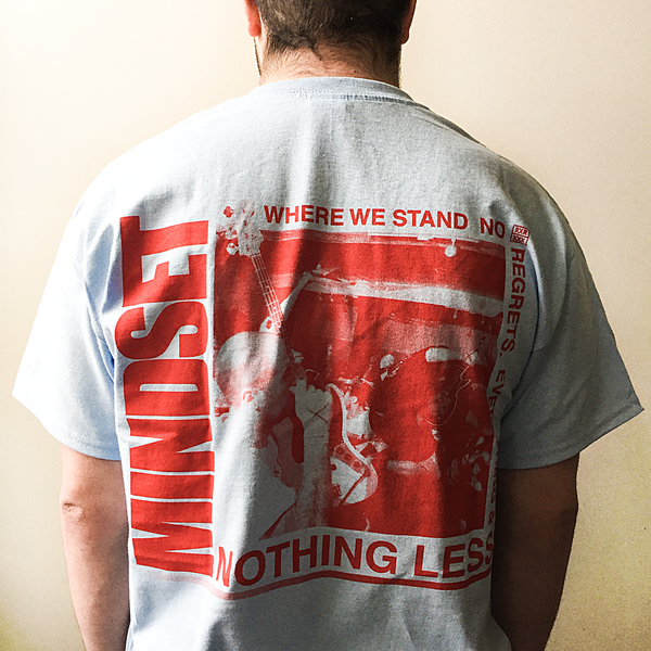 "Mindset ""Nothing Less"" Light Blue T-Shirt"