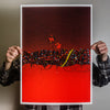 "Nick Pyle ""Red And Sky"" Giclee Print"