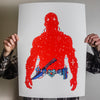"Nick Pyle ""Red Star Mode"" Giclee Print"