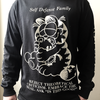 "Self Defense Family ""Garfeelme"" Black Longsleeve"