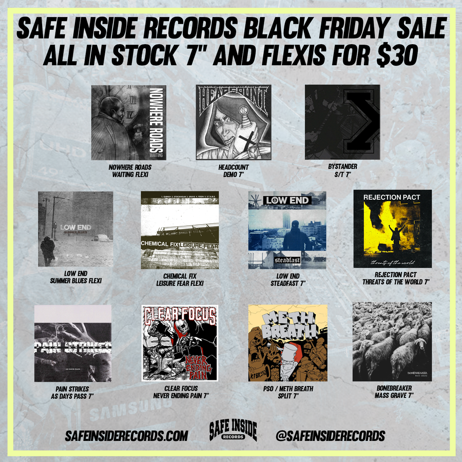 "Safe Inside Black Friday 7"" Bundle"