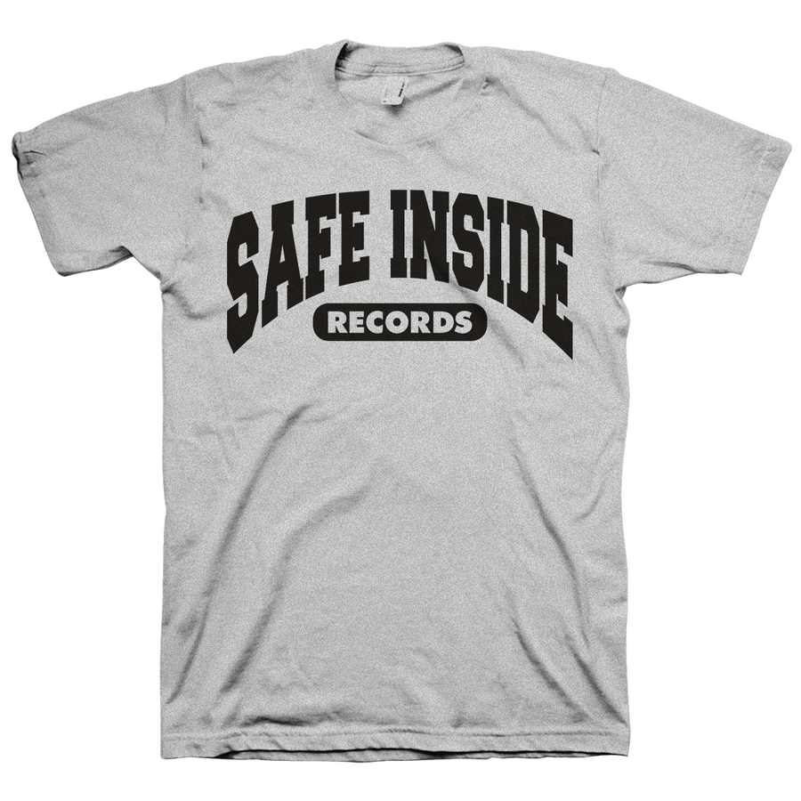 "Safe Inside ""2020 Logo"" Heather Grey T-Shirt"