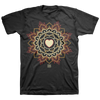 "108 ""Heart"" Black T-Shirt"