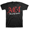 "AC4 ""Burn The World: Logo"" Black T-Shirt"