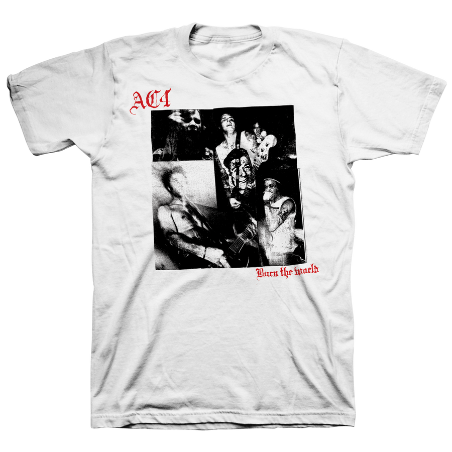 "AC4 ""Burn The World: Cover"" White T-Shirt"