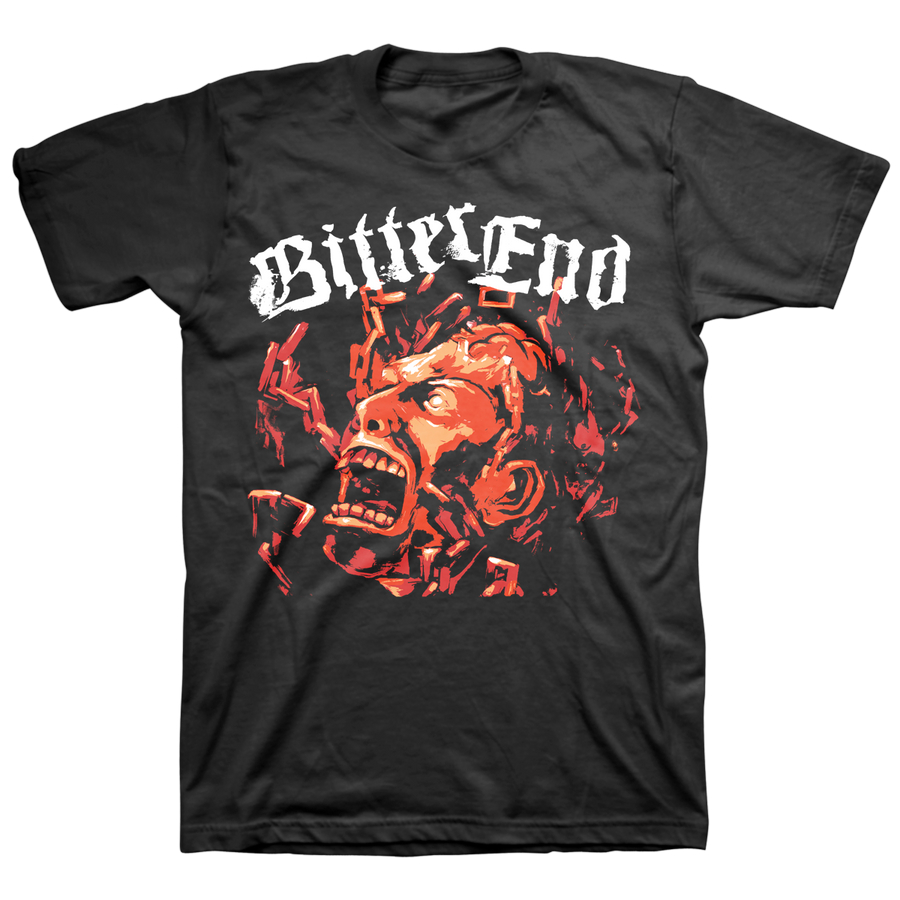 "Bitter End ""Mind In Chains"" Black T-Shirt"
