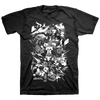 "Blacklisted ""Peace On Earth, War On Stage"" Black T-Shirt"
