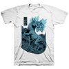 "Converge ""Dark Horse"" White T-Shirt"