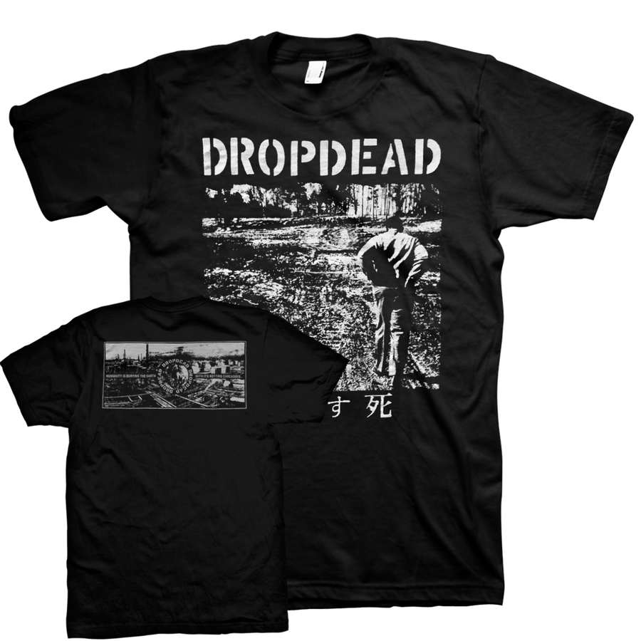 "Dropdead ""LP Cover"" Black T-Shirt"