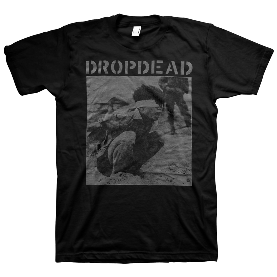 "Dropdead ""Split Cover"" Black T-Shirt"